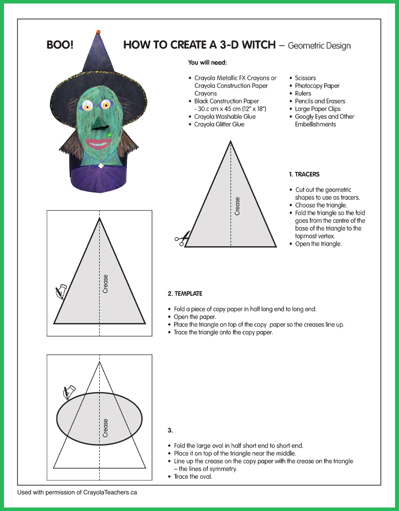 How To Create a 3-D Witch