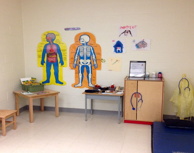 Doctor S Office Art Based Dramatic Play Centre Crayola