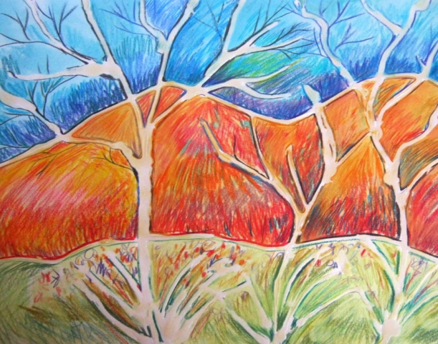 Luscious Landscapes Art In The Style Of Ted Harrison